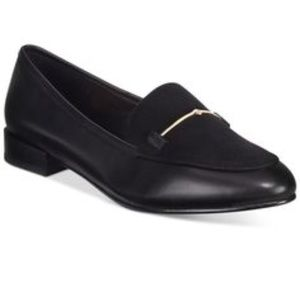 Also Harriet Loafers Black Leather And Suede | 8.5